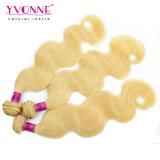 カラー613人間の毛髪の拡張ペルーの毛