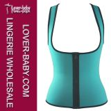 Latex Waist Trainer Vest女性ボディShaperの下着(L42659-4)