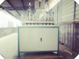 Maschine, wie man das Plastikcup herstellt, welches die 3/6/8/10/12 Unze-Kaffeetassen bildet, die Maschine herstellen