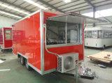 Remorque de /Mobile de chariot de nourriture de roues avec Quaiity élevé