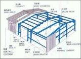 As aves domésticas da construção de aço abrigam/casas de galinha