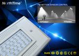 70W LED inteligente de IP65 calle la luz solar con sensor de movimiento