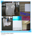 高品質3mm - 6mm Interior Applications - Furniture、Cabinets、Wardrobe、Sliding Mirror Doors.のためのVinyl Backed Safety Mirror
