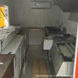 中国の移動式食糧カート販売のための移動式ピザ食糧カート