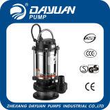 Водяная помпа нержавеющего погружающийся Qdx электрическая с CE (снабжение жилищем серии QDX алюминиевое)