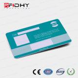 Pré-impresso o cartão de membro de Freqüência Dupla de RFID com painel de assinatura