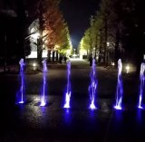 공원 정원 훈장 다채로운 LED 물 댄스 플로워 샘