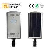 luz de rua solar Integrated do diodo emissor de luz do jardim 15W (HFT5-15)