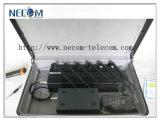 emittente di disturbo del segnale delle fasce del Portable 6 della radio a frequenza ultraelevata del telefono +VHF/delle cellule di 2g 3G 4G