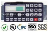 高品質の英数字の機械膜のネームプレートスイッチ