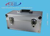 Случай инструмента славного серебра качества алюминиевый с Pre-Cut Foam/OEM сделал (TOOL-004)