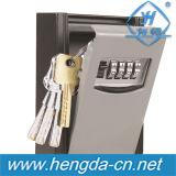 4 coffre-fort de verrouillage des touches numériques pour la sécurité