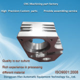 CNCの機械で造るか、またはMahchineの予備品を製粉する砂吹きによって陽極酸化される精密アルミニウム