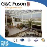 Het Beweegbare Geprefabriceerde Huis Ontwerp Gebogen Sunroom van de Tuin DIY voor Verkoop