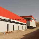 Geprefabriceerd huis voor de Installatie van de Bakstenen en van de Tegels van de Structuur van het Staal