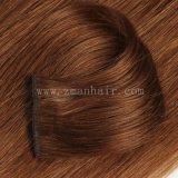 Klem-in de Uitbreiding van het Haar in Bruine Kleur