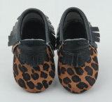 Fashionable Leopard sapatos de bebé (BH-J186)