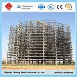 Edificio famoso prefabricado de la estructura de acero del palmo ancho