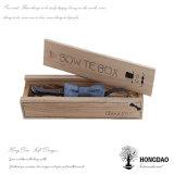 Rectángulo de empaquetado de madera de la pajarita de Hongdao con el trazador de líneas Wholesale_D