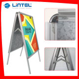 두 배 Sided Frame Poster Board Outdoor Sign Board (LT-10)