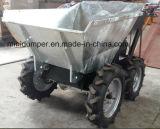 Тележка навоза Dumper ведра Galvnazing горячего DIP миниая