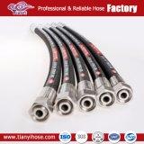 Tubo flessibile di gomma idraulico della fabbrica En853 SAE100 R1/1sn R2/2sn