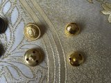 Настраиваемый логотип металлические стойки швейных/покрыть/джинсы/куртка кнопки для одежды аксессуары