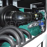 Шесть цилиндров 125 ква Основная мощность дизельный генератор с бесшумный корпус хорошего качества