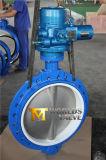 Электрическая клапан-бабочка Dn600 с вкладышем PTFE (D971X-10/16)
