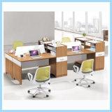 최신 나무로 되는 사무실 직원 테이블, 일 사무실 워크 스테이션