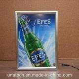 A0 A1 A2 A3 A4 dünnes LED Plakat-heller Kasten der Aluminium-Verschluss-Rahmen Backlit Film-Fahnen-