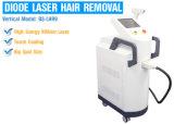 Máquina da remoção do cabelo do laser do LCD IPL de um toque de 10.1 polegadas