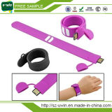 Bracelete de silicone a unidade flash USB/disco flash USB