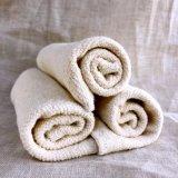 Chiffon en coton biologique de chanvre Face, mini serviette de toilette