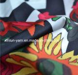 Tejido de tela de poliéster hermoso para la ropa / vestido