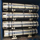 UHP/HP/Np de GrafietElektroden van de Hoogste Kwaliteit van de Rang voor de Uitsmelting van de Oven van de Elektrische Boog met Lage Prijs