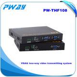 VGA Loop-Through Local RS232 analogique modem émetteur de télévision numérique optique VGA pas compresser Transceiver fibre optique
