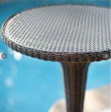 Сад Патио Мебель из ротанга Открытый стол и барные (FS-WBS001 + 002)