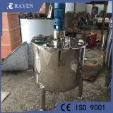 SUS316L de acero inoxidable revestido depósito mezclador líquido buque vertical