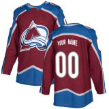 Colorado Avalanche Semyon Varlamov Jared Cowen Chris Bigras Hockey camisolas