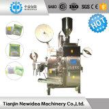 Il sacchetto interno con esterno avvolge la macchina per l'imballaggio delle merci della bustina di tè