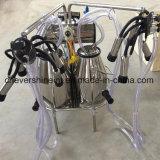 bomba de vacío Double-Buckets Motor AC de la máquina de ordeño de vaca