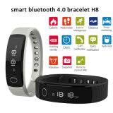 OLED 전시 (H8)를 가진 IP56 Watetproof 4.0 Bluetooth 지능적인 팔찌