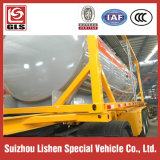 2 assi Semi Trailer con Container Chemical Tanker Truck Trailer