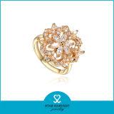 La calidad de encanto últimos diseños de anillo de dedo de oro (SH-J0054R2)