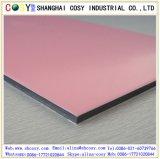 PVDFまたはPEの上塗を施してあるプラスチックアルミニウム合成のパネル
