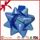 Nuevo diseño de papel impreso de la estrella del arco para la decoración de la boda