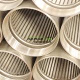 Edelstahl-Wasser-Draht-Filterrohrjohnson-Bildschirm-Grobfilter-Rohr