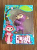 Nuevo mono interactivo al por mayor más caliente de los pececillos del juguete del dedo