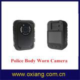 Камера полиций рекордера IP65 тела DVR полиций ночного видения иК правоохрания